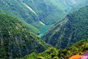 Matka canyon mountains Macedonia eastern Europe landscape